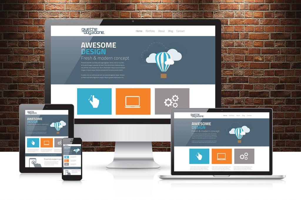 Site web desktop/mobil